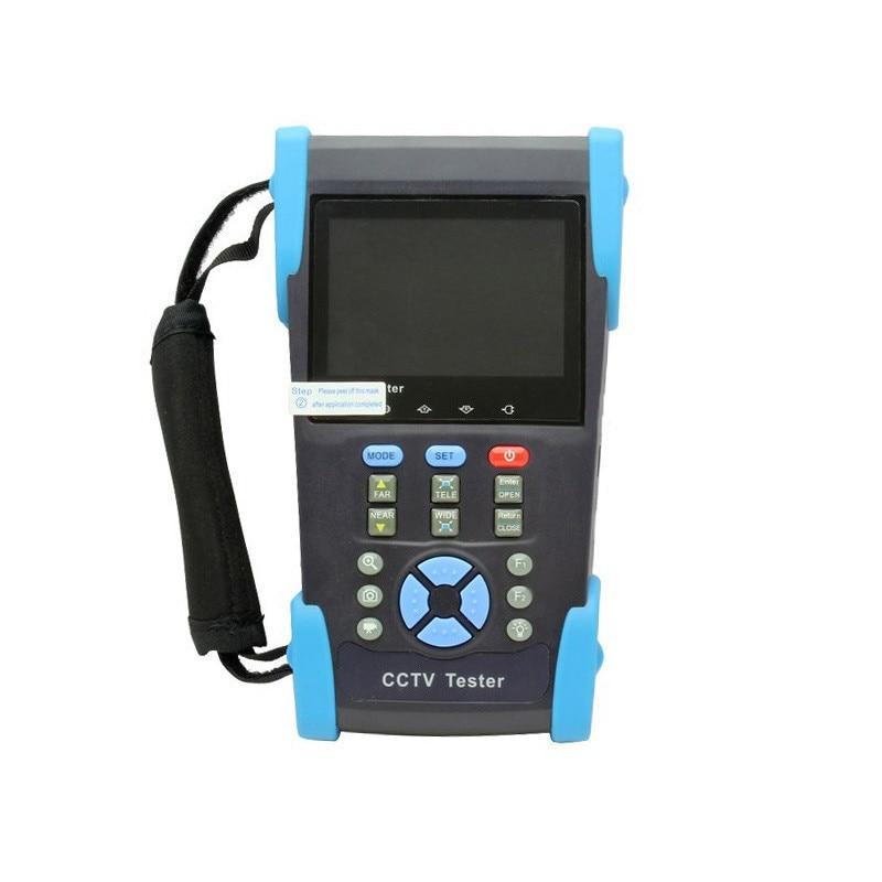 High Quality HVT-2601 3.5 TFT LCD IP Camera CCTV POE Tester Monitor PTZ Controller 10x Zoom DV