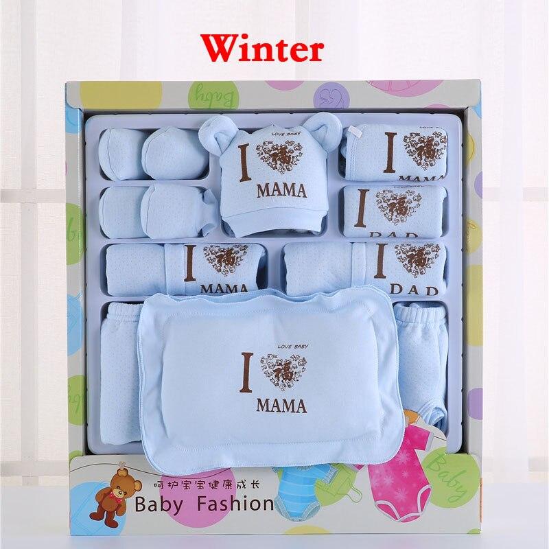 Emotion Moms Newborn Baby Clothing Set Brand Baby Boy/Girl Clothes Set New Born Baby Clothes Underwear 100% Cotton 22PCS/set