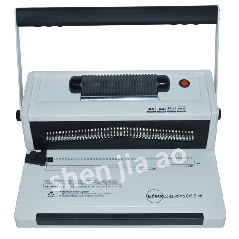 Aliexpress.com : Buy Electric Binding Machine Coil200Pro
