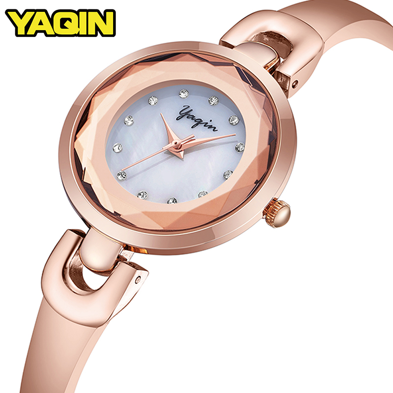 YAQIN Luxury waterproof Women Watch Women Quartz Watch Women's Bracelets Watches Relogio Feminino Montre Femme Reloj Mujer