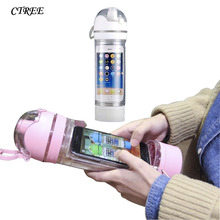 CTREE New Creative Mug 480ml Water Bottles Sports Multi-function Portable Travel Bottle Apple Mobile Cups Cup C867