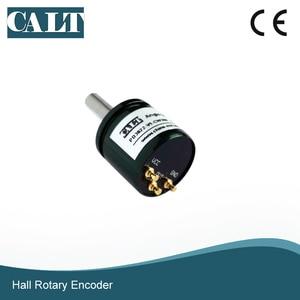 Бесконтактный цифровой потенциометр P3022, магнитный вращающийся датчик для холла, 0- 360 градусов, датчики скорости, аналоговый выход 0-5 В