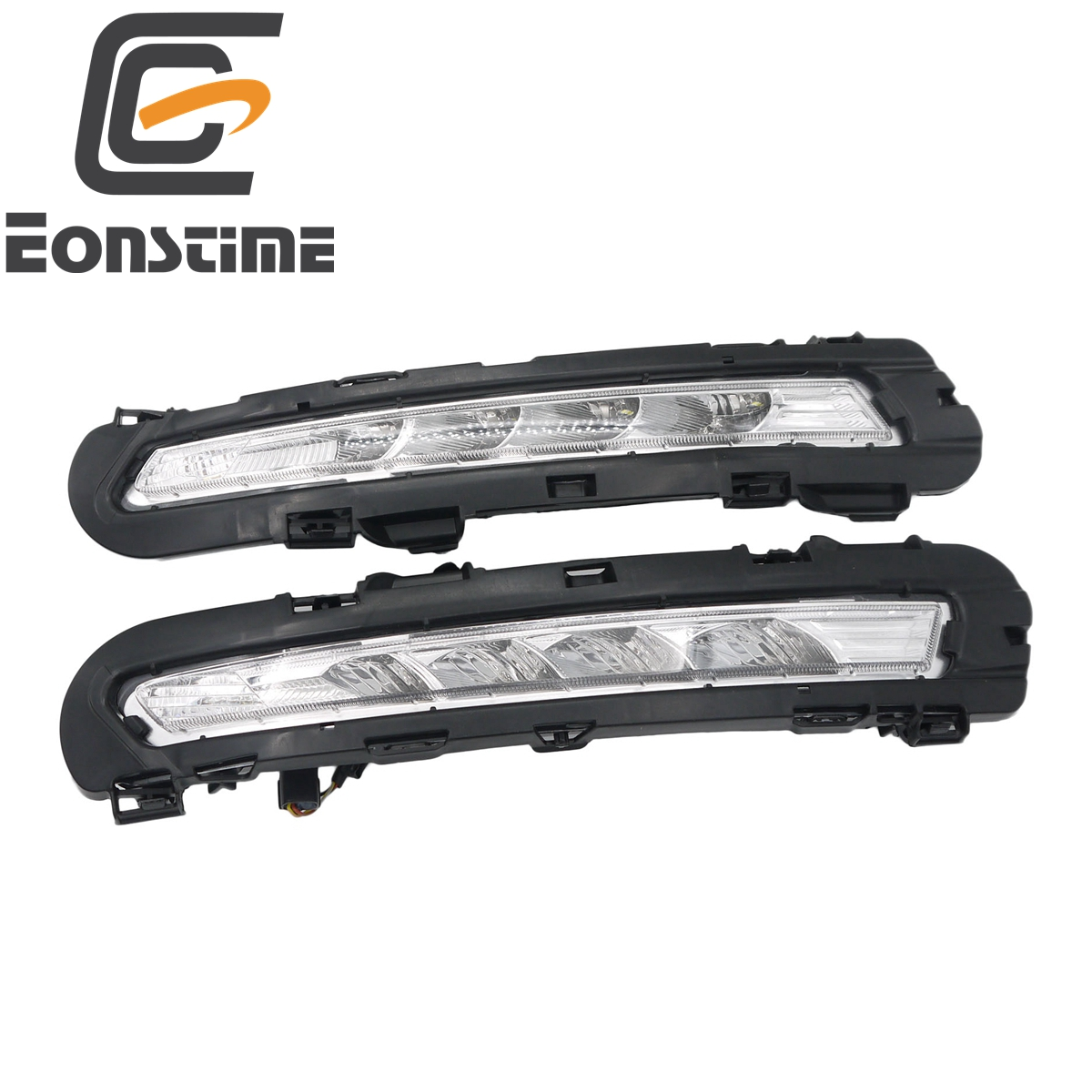 Eonstime 2pcs 12V Car DRL LED Daytime Running Light Fog lights Turn lights Relay Daylight For Ford Mondeo 2011 2012 car styling icoco 3 led waterproof car light universal daytime running lights dc12v super white auto car fog lamps car styling