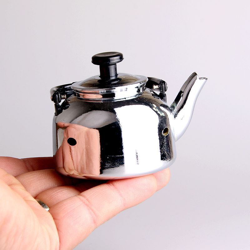 Image 5 - New Creative Compact Jet Gas Lighter Cigarette Accessories Teapot Lighter Inflated Butane Kettle Lighter NO GAS-in Matches from Home & Garden