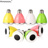 HIPERDEAL Smart House Smart Home 2 In 1 Bulb Light E27 Color With Bluetooth Music Speaker