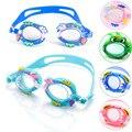 Cute Animal Characterize Childern's Anti Fog Waterproof Swimming Train Glasses Optical Lens Adjustable Nasal Bridge kid Glasses