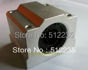 8pcs SCS20UU  Linear ball bearing block  pillow block linear unit for 20mm shaft CNC part