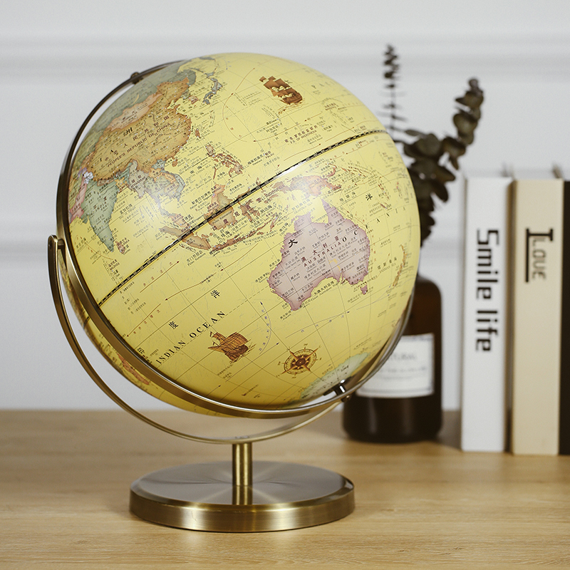 Style nordique Globe USB lumineuse Navigation ère pour la lumière de nuit équipement d'enseignement étude bureau décoration de la maison comme cadeau pour enfants