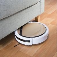 ILIFE Mop Robot Vacuum Cleaner For Home ILife V5 CW310 Golden Lid HEPA Filter Sensor Remote