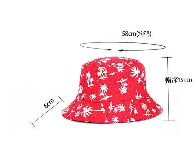 Bucket Hat Spring Summer Maple Leaf Brooklyn Bucket Hat Hip Hop Bob Panama Women Caps Cotton Outdoor Fishing Caps Men Hunting