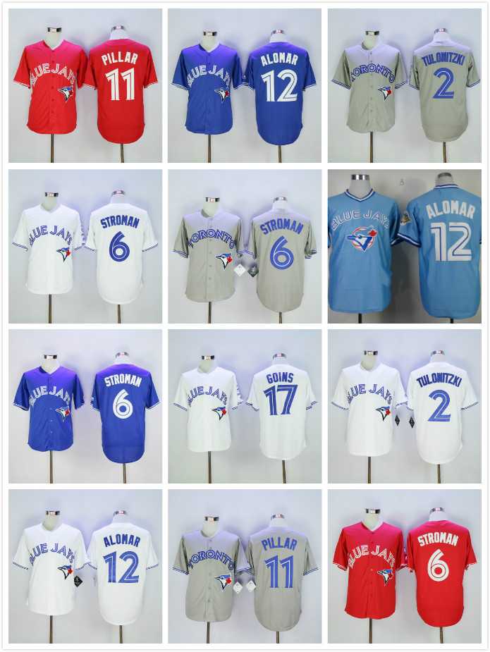 ccf5a0cb4 Buy jerseys blue jays and get free shipping on AliExpress.com