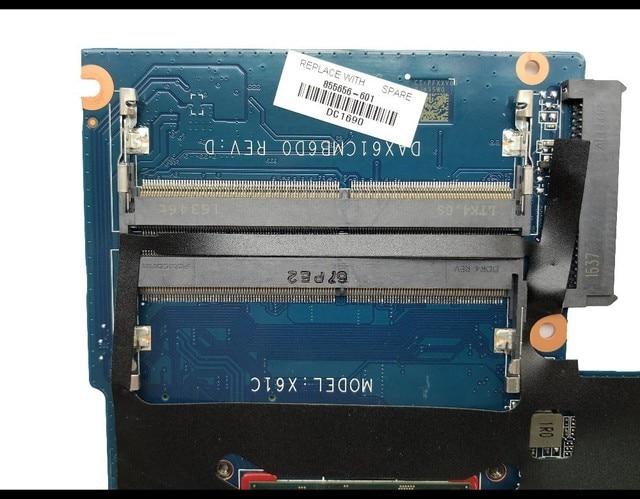 Wysokiej jakości dla HP Probook 440 G3 laptopa płyty głównej płyta główna w 855656-601 DAX61CMB6D0 X61 SR2EY I5-6200U DDR4 100% w pełni przetestowane