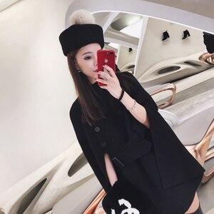 Image 2 - Осенняя и зимняя мода маленькие фетровые шерстяные фетровые шляпы джазовая шляпа свернутый подол