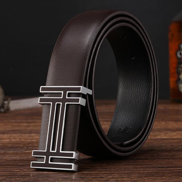 2016 New Arrival designer belts men high quality cowskin Leather Belt For Men  Fashion genuine leather belt men luxury brand