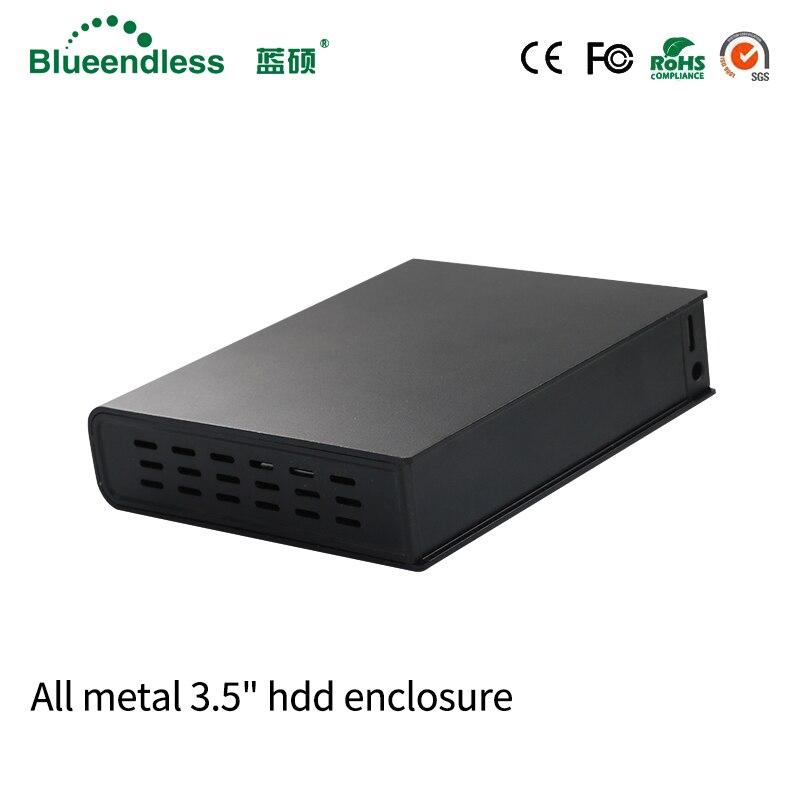 1TB 2TB 3TB 4TB External Hard Drive 2tb SATA USB 3 0 HDD Enclosure HDD Box