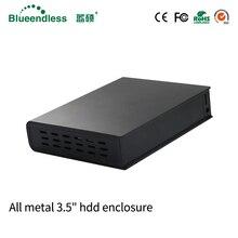 1TB/2TB/3TB/4TB External Hard Drive 2tb SATA USB 3.0 HDD Enclosure HDD Box 3.5 caddy with High Speed Storage External Hard Disk