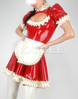 Latex robe maid