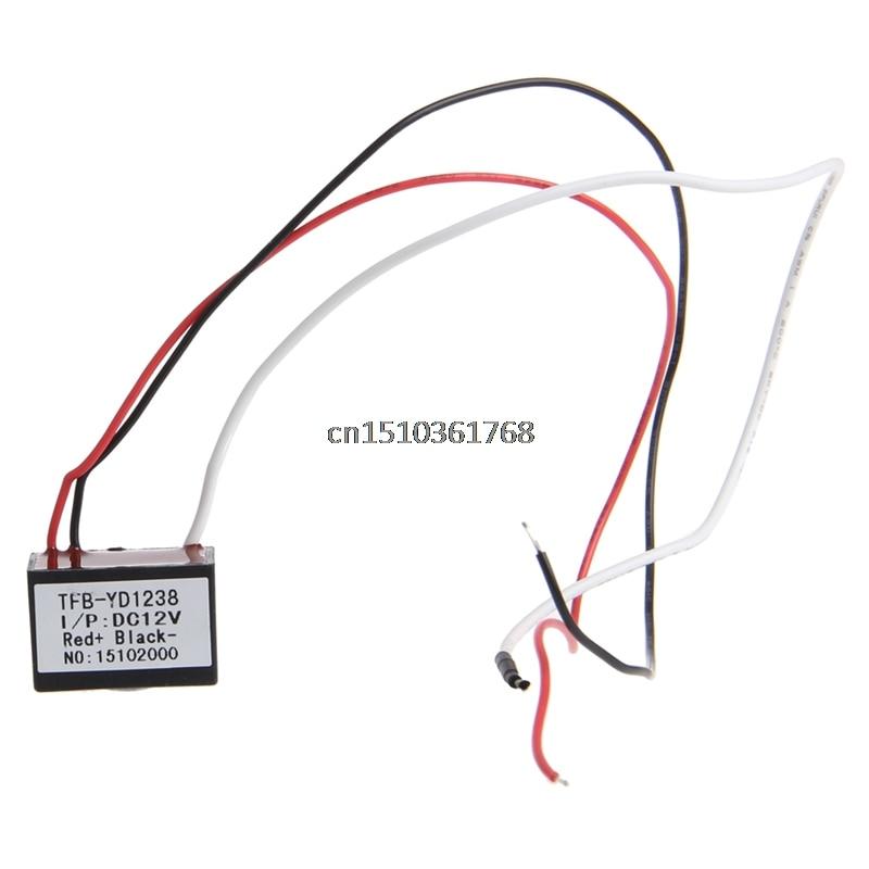 Air Purifier Ionizer Negative Ion Anion Generator Purifier Cleaner Car DC 12V #Y05# #C05#