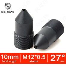 BINYEAE CCTV レンズ M12 10 ミリメートルレンズ Cctv セキュリティ 720 1080P 1080 1080P HD カメラミニカメラ Pinholelens