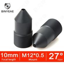 BINYEAE CCTV lens M12 10mm Lens voor Cctv 720 P 1080 P HD camera mini camera Pinholelens