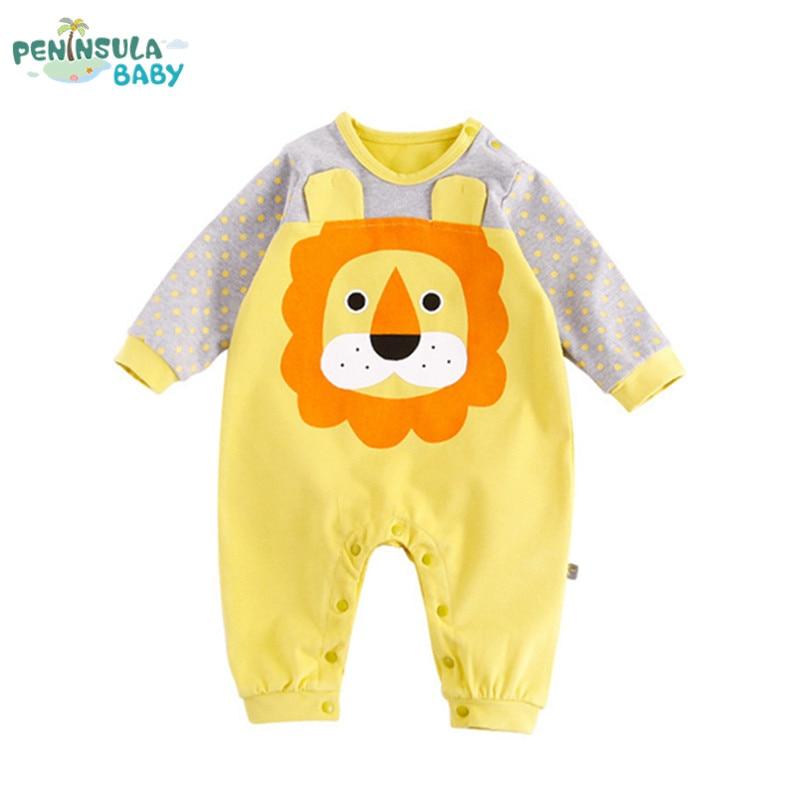 Lente Herfst Pasgeboren Peuter Zuigeling Schattige Babykleding Lange - Babykleding - Foto 1
