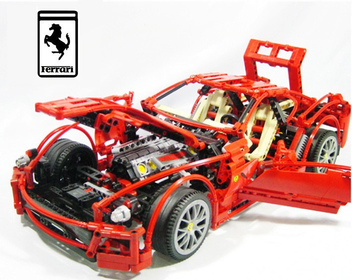 Model building kits compatible with lego Racing Car 3D blocks Educational model building toys hobbies for children children deformation car airplane educational building toys blocks for kids gift compatible with lego new in box