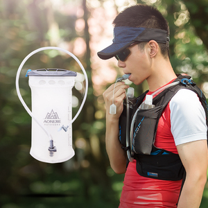 Image 5 - Aonijie SD20 Zachte Reservoir 1.5L Waterzak Hydration Pack Water Opbergtas Tpu Bpa Gratis Voor Running Hydratatie Vest Rugzak