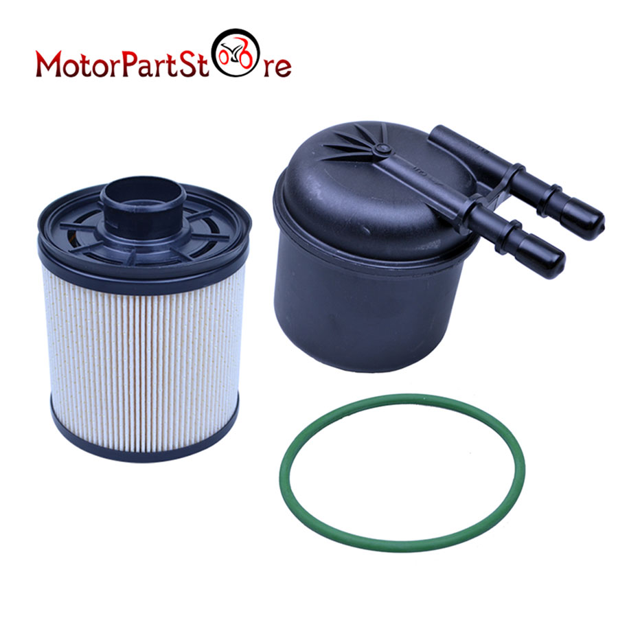 Fd4615 Fuel Filter For 2011 2013 Ford 67l V8 Diesel F250 F350 F450 Housing 9001
