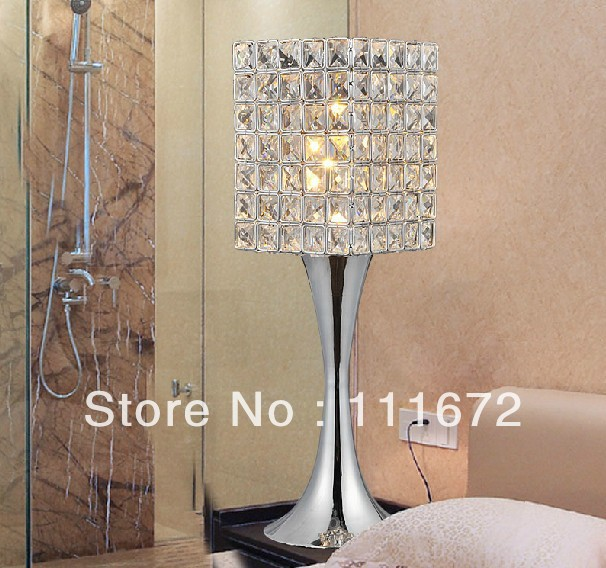 new item hot sales contemporary crystal table lamps, beautiful ...