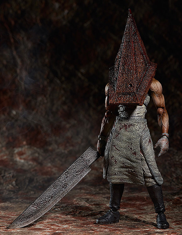 Silent Hill 2 Original FREEING Figma Action Figure Series SP-055 - Red Pyramid Thing In Box Recast skullies