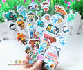 3 sheets/set Octonauts 3D stickers for kids Home wall decor on laptop cute Gifts for the children in the party supplies