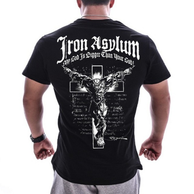 IRON SKULL GYM T-SHIRT (8 VARIAN)