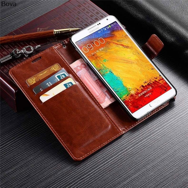 Samsung galaxy Note 3 N9000 կաշվե հեռախոսի համար - Բջջային հեռախոսի պարագաներ և պահեստամասեր - Լուսանկար 3