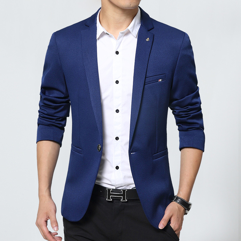 New Design Mens Brand Blazer Jacket Coats Slim Fit Suit