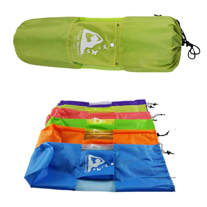 Hot Sale Yoga Bag Gym Mat Bag Yoga Backpack Waterproof Yoga Pilates Mat Case Bag Carriers For 6 10mm (Yoga Mat Not Including)
