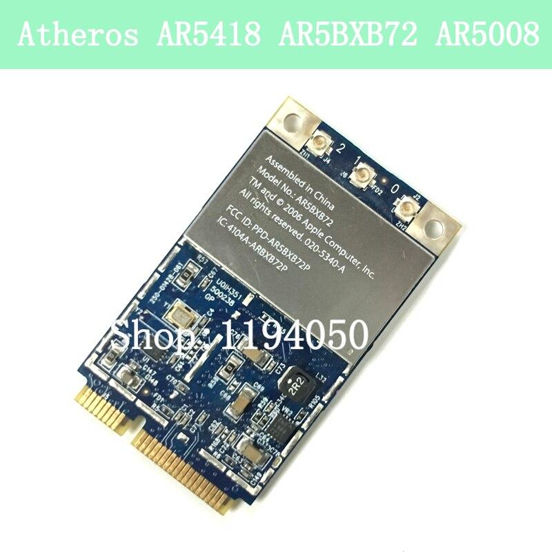 Atheros Ar5418 Ar5bxb72 Ar5008 300 300mbps 80211a B G N Dual