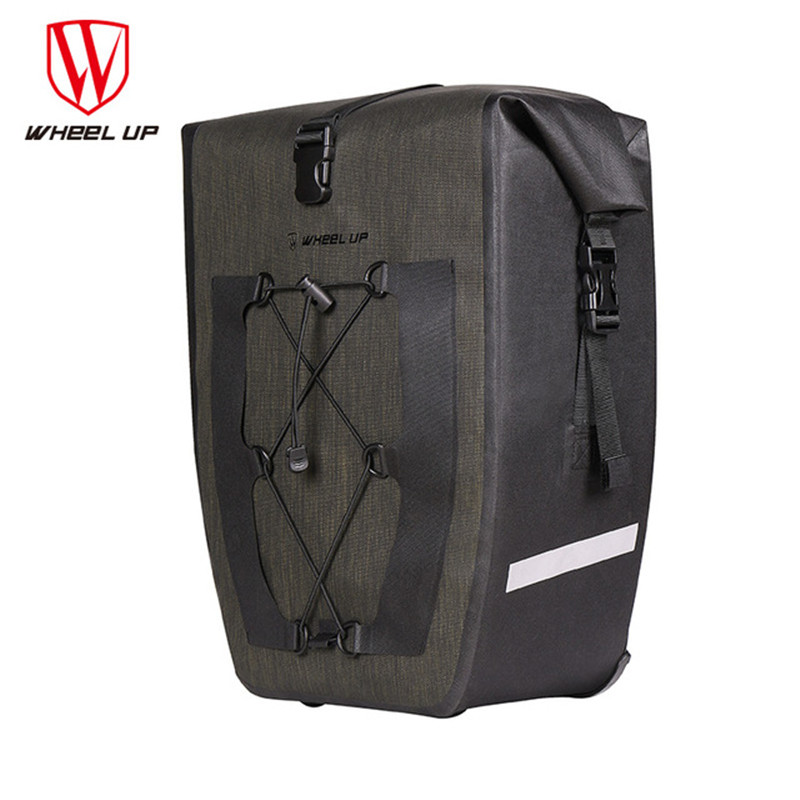 Wheel Up 2018 Bicycle Trunk Bag 27L Waterproof Bike Rear Rack Bag Cycling Basket Rack Bike Luggage Back Seat Bicycle AccessoriesWheel Up 2018 Bicycle Trunk Bag 27L Waterproof Bike Rear Rack Bag Cycling Basket Rack Bike Luggage Back Seat Bicycle Accessories