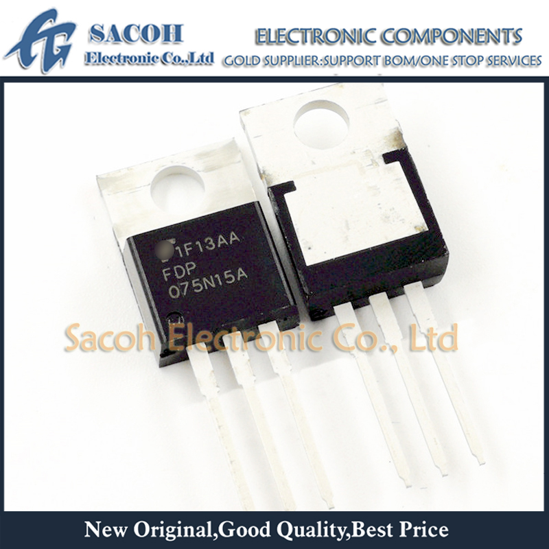 MOSFET 10pcs 150V FDP075N15A N-Channel 130A TO-220/263