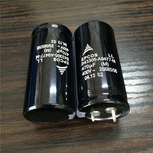 Image 4 - 10pcs 470 미크로포맷 400V EPCOS B43305 시리즈 25x50mm 400V470uF PSU 알루미늄 전해 커패시터