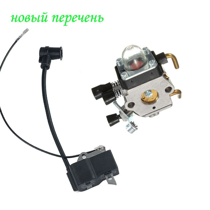 IGNITION COIL CARBURETOR For STIHL TTIMMER FS38 FS45 FS55 FS75 FS80 FS85 FC85 HT70 HS75 KM55 KM80 KM85 цены
