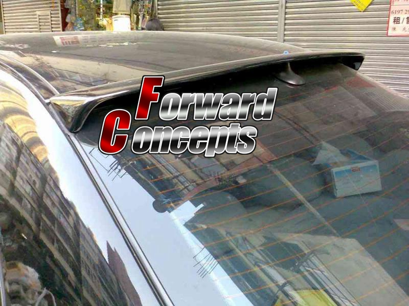 FOR 01-06 <font><b>W203</b></font> C-CLASS C180 C200 C230 C240 C55 REAR WING ROOF <font><b>SPOILER</b></font> image