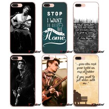 Pop mężczyzna piosenkarka john mayer gitara TPU Case dla iPhone X 4 4S 5 5S 5C SE 6 6 S 7 8 Plus Samsung Galaxy J1 J3 J5 J7 A3 A5 2016 2017(China)