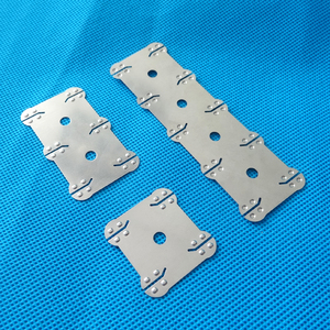 Image 1 - 18650 battery nickel belt 4P 6P 10P Lithium ion cell pure nickel strip Cell center spacing 21mm For 18650 battery 4P 6P holder