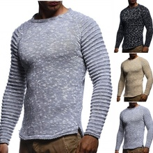 цена на Men's Sweater Knitted Shawl Turtleneck Sweater Pullover Winter Fashion Streetwear Long Sleeve High Quality Man's Sweaters