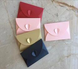 10 шт./лот Мини Винтаж конверт перламутровый Love Member банковская карта конверт сумка креативная упаковка поздравительная и пригласительная
