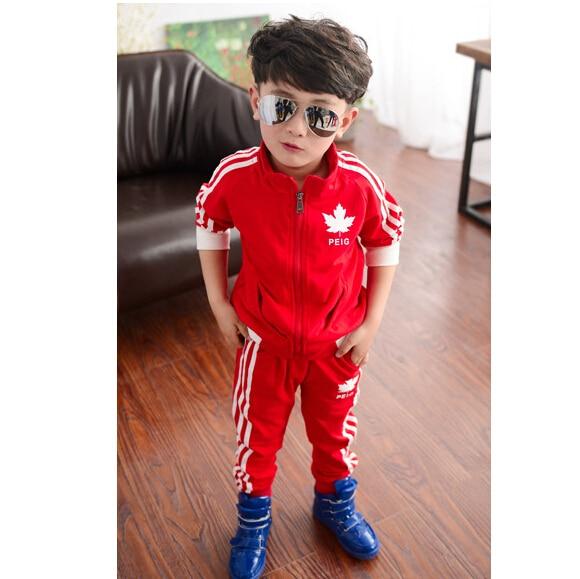 2015 ropa de los niños masculinos primavera niño conjunto niño conjunto  deportivo de manga larga conjunto niño twinset en Sistemas de la ropa de  Mamá y bebé ... 627df0a2df168