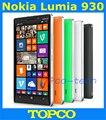 Оригинал Nokia Lumia 930 разблокирована окна мобильный телефон 8.1 GSM 3 г и 4 г 5.0 '' 20MP WIFI GPS 32 ГБ встроенной памяти прямая поставка