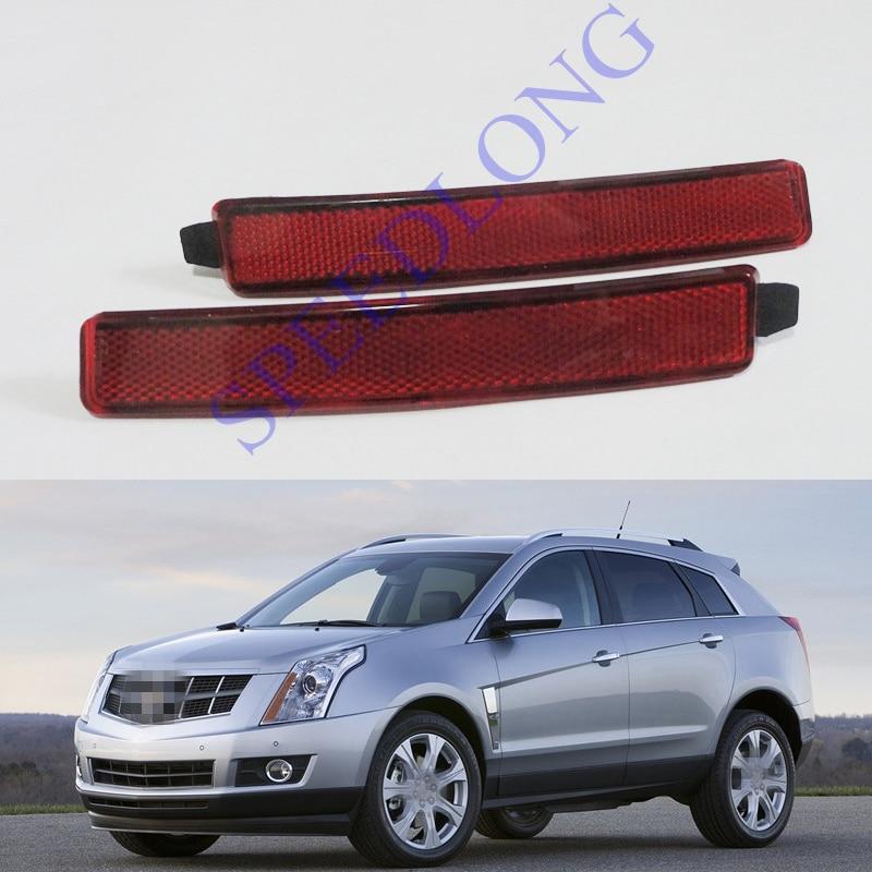 2 ks / pár RH a LH zadní odrazky Zadní mlhové světlomety pro Cadillac SRX 2010-2016