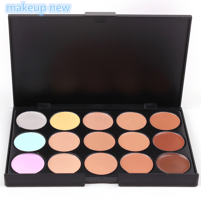 Professional Palette 15 Colour Concealer (3 Shades Style)