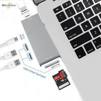 USB C Hub Type C Hub USB C 3 1 To HDMI Adapter SD TF Card